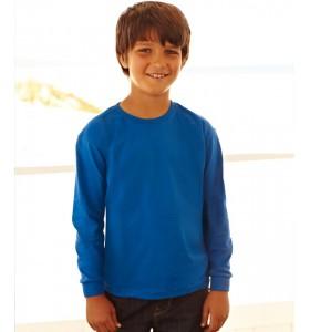 Dziecięca Koszulka z Długim Rękawem - Fruit of the Loom