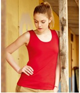 Koszulka Lady-Fit Valueweight Vest