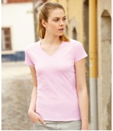 LADY-FIT VALUEWEIGHT V-NECK